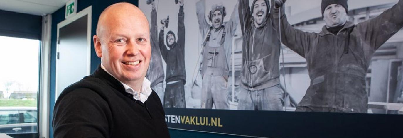 Bart Doornwaard, eigenaar Vesten Vaklui